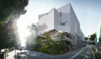 一场艺术与人文的交叠,香港中文大学艺文阁(竞赛项目) / 香港汇创国际建筑设计