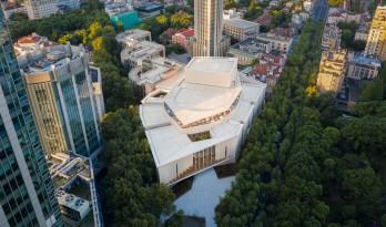 普利兹克奖大师包赞巴克先生中国首作落成:上音歌剧院