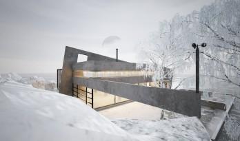 绝寒世界下零度运转 / 上海黎李建筑设计