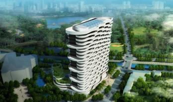 广州市黄埔区福利院二期工程 / 广州亚泰建筑设计院