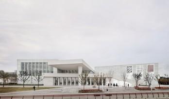 大卫·奇普菲尔德新作:上海西岸美术馆