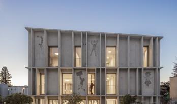 """破而立:严谨之中,流露自由——瑞士教育大楼""""Torre D'Angolo"""""""