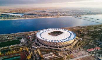 坐落于伏尔加河畔的璀璨钻石——俄罗斯足球体育馆 Volgograd / PI ARENA