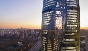 扎哈北京丽泽SOHO开幕,拥有世界最高中庭(附图纸)