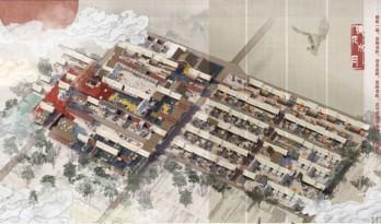 镜花水月,威海国际大学生建筑设计方案竞赛金奖作品解读