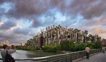 """由Heatherwick工作室打造的上海""""1000棵树""""综合开发项目初具规模"""