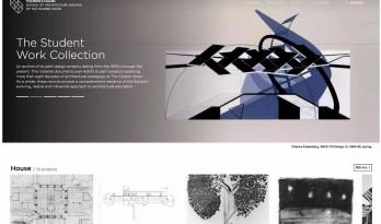 震惊!这所学校居然为几十年来的学生作品建了一个网站!