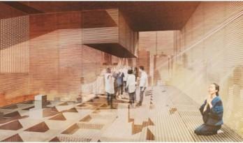 探索城市中生命和死亡的关系 | 东京垂直墓地竞赛作品