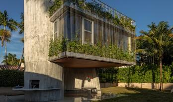 几何写意的混凝土雕塑:太阳轨迹住宅 / Christian Wassmann