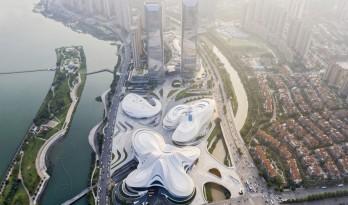 长沙梅溪湖国际文化艺术中心 / 扎哈·哈迪德建筑事务所