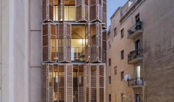 光影流转间带来温暖质感——西班牙四友公寓