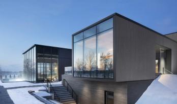 圣劳伦斯河畔的温泉中心 / LEMAYMICHAUD Architecture Design