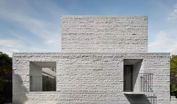 空灵而轻盈:阿马代尔之家 / B.E Architecture