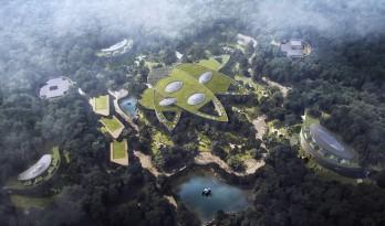 """天华建筑创作工作室宣布""""大熊猫基地星星产房""""进入施工图阶段"""