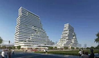 国际金融生态城方案:横亘于CBD的精英孵化器 / LAD(里德)设计机构