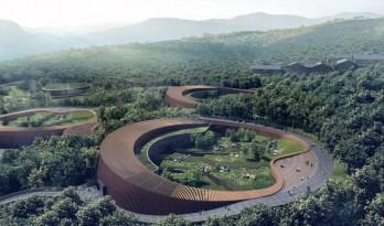 成都大熊猫国际研究与繁育中心熊猫馆方案 / EID建筑事务所