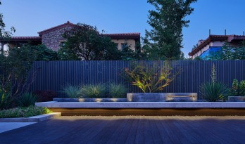 水泥的花园,风化即永恒:优山美地别墅花园 / 北京甲南园林设计事务所
