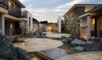 山谷中的美景院落:Bardessono 水疗酒店 / WATG