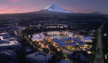 """BIG将于富士山下打造丰田万物互联""""编织之城"""""""