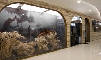 """""""田野山河"""":肥猫中餐厅,上海菊园店/卧野空间设计事务所"""
