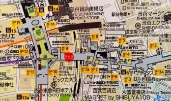 东京建筑地图