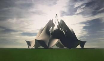 概念设计:白玉莲花台(视频) / 张华教授工作室、天津大学建筑设计研究院