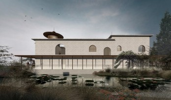 于空灵之处,觅得静修:江苏扬州观音院 / 上海善祥建筑设计