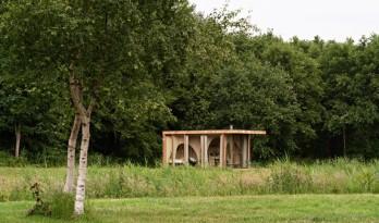 可移动的森林小屋 / Thewaywebuild