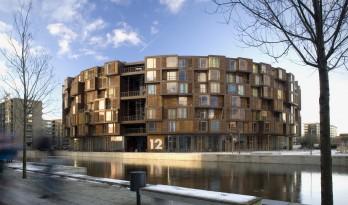 沉静内敛,大胆地勾画:丹麦学生公寓 / Lundgaard & Tranberg