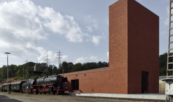 波鸿铁路博物馆,工业感与历史特质的表达 / Max Dudler
