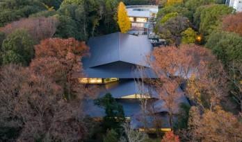 如飘零落叶,消隐于森林中:日本明治神宫博物馆 / 隈研吾建筑都市设计事务所