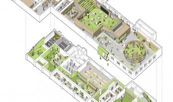 """当""""二环里最后的交谊舞厅""""变身为""""社区文体中心"""" / MAT 超级建筑事务所"""