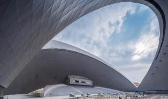 日月相对,华夏文化展示中心 / 青岛腾远设计事务所 + ECA2
