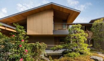 山水庭院——日本尼崎市住宅 / uemachi laboratory