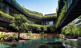 会呼吸的热带乐园——康沃尔花园住宅 / CHANG Architects