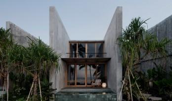 粗野混凝土墙体勾勒丛林图景:巴厘岛Tiing酒店 / Nic Brunsdon