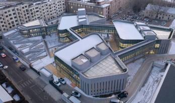 富于探索体验感的有机院落:那和雅幼儿园 / WEI 建筑设计