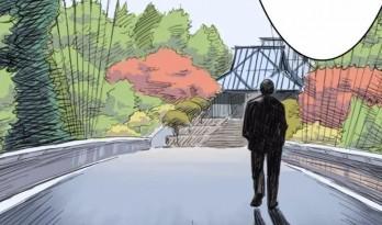 贝聿铭逝世一周年,用漫画的方式打开他的桃花源
