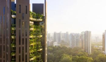 """设计鬼才托马斯·赫斯维克新作:新加坡""""空中伊甸园"""""""