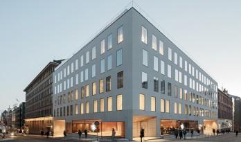 新古典主义建筑群里的当代城市客厅:赫尔辛基大学思维角