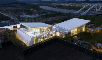飞鸟之翼 · 宁海中昂新天地生活艺术馆 / 上海新空间工程设计管理有限公司