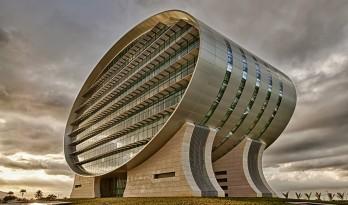 毛里求斯商业银行,嵌入地下的能源可持续建筑