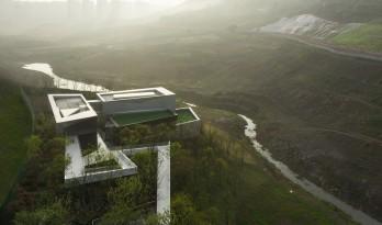 隐于自然的光之魔方——重庆龙湖云瑶玉陛社区中心 / 成执设计