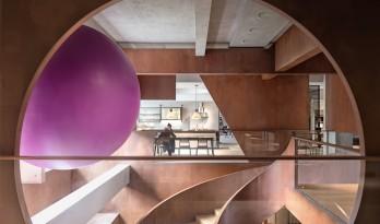 粗野而柔美的结构艺术——J+生活艺术馆 / 纬图设计