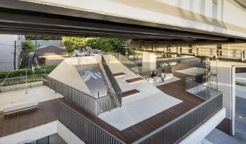 首尔露台广场,高架桥下的再生空间