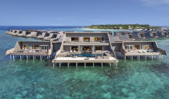 凝望碧蓝大海的岛屿村落:马尔代夫沃木里瑞吉度假酒店