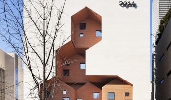 村庄小房子堆砌于白色盒子中:韩国0914旗舰店