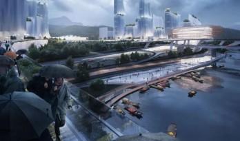DA! Architects 牵头中、俄、荷三国事务所,挑战丽水城市竞赛丨天下哲学体系下,对即兴城市的思考