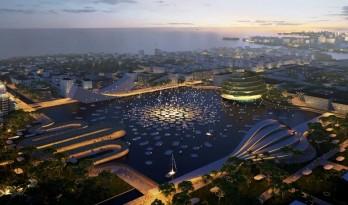 BIG携手Hijjas和Ramboll为马来西亚槟城南岛打造生物多样性城市