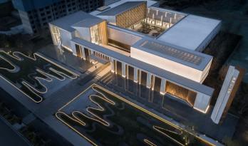 关于建筑中在地文化属性的诠释与传递:金地·江山风华城市艺术中心 / PTA上海柏涛